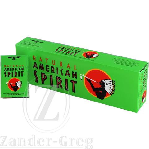 American Spirit Lights American Spirit Green Menthol