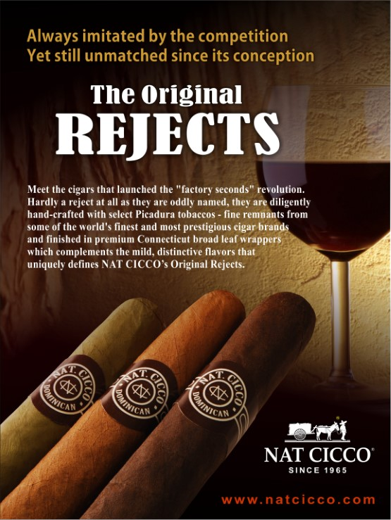 NAT CICCO CUBAN CORONA REJECTS NATURAL