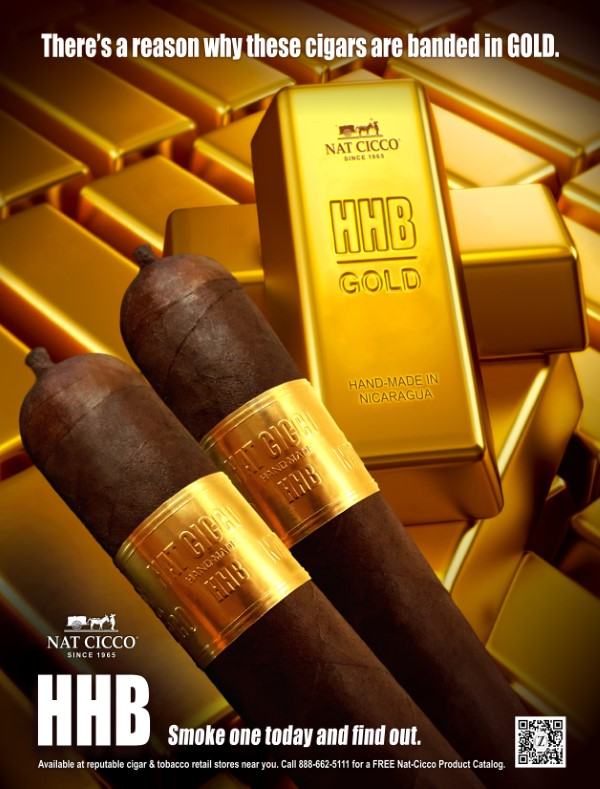 HHB HABANO GOLD CHURCHILL BOX
